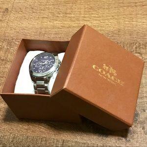 Coach Women's Silvertone Stainless Steel Watch